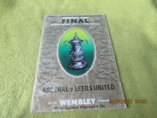 Arsenal v Leeds United - FA Cup Final in 1972 at Wembley