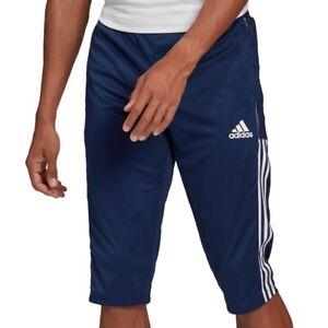 adidas Performance Tiro 21 3/4 Pant dunkelblau/weiß - Herren GH4473