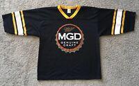 MGD Miller Genuine Draft Football Jersey - Beer Promo Shirt