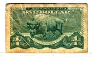 "$1  (BUFFALO) ""MILITARY PAYMENT CERTIFICATE"" SERIES 692 (BUFFALO) $1 NICE NOTE!!"