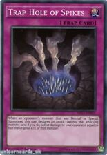 MIL1-EN022 Trap Hole of Spikes Super Rare 1st edition Mint YuGiOh Card