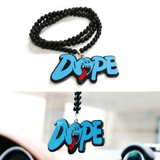 JDM Mario Ghost Dope Car Rearview Mirror Hanging Charm Dangling Pendant Ornament