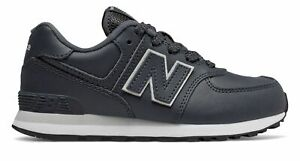 New Balance Kid's 574 Big Kids Male Shoes Grey with Grey
