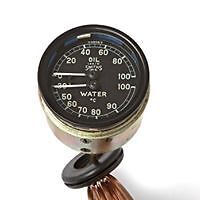 JAGUAR  XK 120 DUAL OIL/WATER GAUGE
