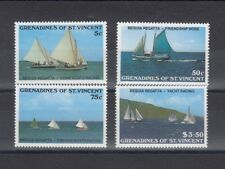TIMBRE STAMP 4 GRENADINES ST VINCENT Y&T#538-41 BATEAU NEUF**/MNH-MINT 1988 ~B21