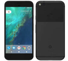 GOOGLE PIXEL XL 128GB BLACK UNLOCKED WITH WARRANTY G2PW2100  A GRADE CLEAN