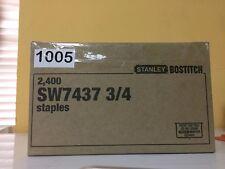 Staples 2,400 SW7437 3/4 STANLEY BOSTITCH