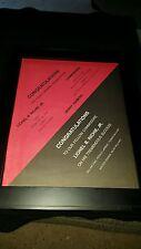 Lionel Richie Commodores Rare Original Grammy Promo Poster Ad Framed!