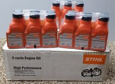 STIHL OIL MIX 1 GALLON HP 2-CYCLE ENGINE OIL CASE/48 BOTTLES