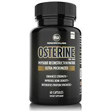 ULTRA MICRONIZED OSTERINE (12.5mg) - HPLC Tested / 100% PURE