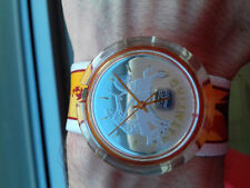 Swatch POP VINTAGE COLLECTION(1995)PMZ103U1 Ippolytos OLIMPIC watch OROLOGIO NOS