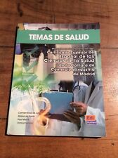 Temas De salud. Libro de claves / Health Topics. Book by Marisa De Prada,...