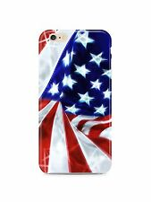 American Flag USA iPhone 4S 5 5S 5c 6 6S 7 8 X XS Max XR 11 Pro Plus Case Cover