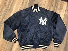 New New York Yankees Starter Satin Diamond Collection Jacket Men's XL USA