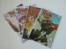 Thor : Heaven and Earth #1-4 lot Complete Mini-Series (Marvel Comics, 2011)