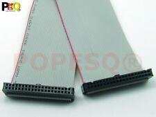 1 Stk. x IDC Kabel 40 polig 50cm 2.54mm Verbinder Flachbandkabel #A1332