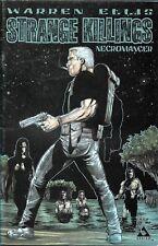 Strange Killings comic book (Warren Ellis)  - Necromancer issue #1