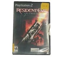 Resident Evil: Outbreak (Sony PlayStation 2 PS2) Complete Tested