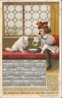 Newark, NEW JERSEY - Prudential Insurance - ADVERTISING - 1910 Calendar