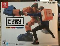 Nintendo LABO Toy-Con 2 Robot Kit New Sealed