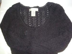 NINE WEST Black Sweater (XS)  Pre-loved
