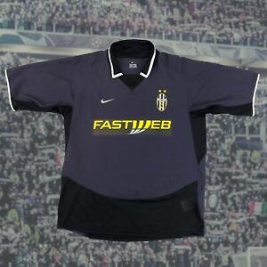 Juventus 2003/04 Third Shirt Soccer Jersey Large Nike Serie A Camiseta Vintage