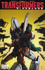 Transformers Comic 7 Windblade Subscription Cover First Print 2015 Scott Howell