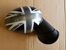 MINI COOPER ONE R55 R56 R57 OS DRIVER SIDE ELECTRIC WING MIRROR UNION JACK COVER