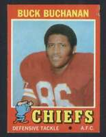 1971 Topps #13 Buck Buchanan NM/NM+ Chiefs 65587