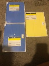IPAD AIR SMART COVER MF054ZM/A, 2-BLUE COVERS & 1-YELLOW COVER, ALL 3 ARE NEW