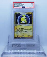Pokemon EX SANDSTORM RAICHU EX #98 HOLO FOIL CARD PSA 5 EX #*