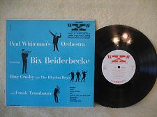 "Bix Beiderbecke, Bing Crosby, Paul Whiteman, Frank Trumbauer, 1950, X , 10"" 33"
