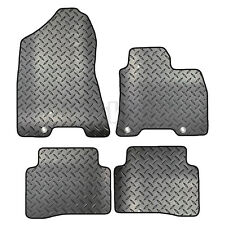 Hyundai Tucson 2015 Onwards Tailored 4 Piece Rubber Car Mat Set 3 Clips