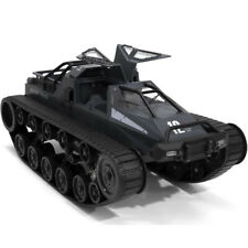 Realistic 1:12 2.4G 4WD RC Tracked Vehicle Simulation Remote Control Car Toy