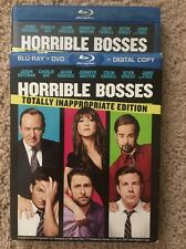 Horrible Bosses (Blu-ray/DVD, 2011, 2-Disc Set, Totally Inappropriate Edition; I