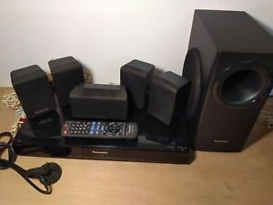 Panasonic SA-PT480 DVD Home Theater Sound System With Remote - Speakers