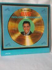 "ELVIS PRESLEY ""ELVIS' GOLDEN RECORDS VOLUME 3""  MONO LPM-2765 NM-/VG+"