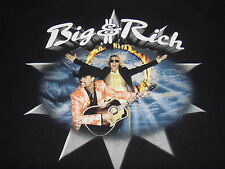 2006 NICE! Big & Rich (L) Pre-owned Country Rock $ Roll Concert Tour T-Shirt