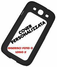 PRINT PERSONALIZED COVER FLIP COMPATIBLE SAMSUNG GALAXY S3 BLACK