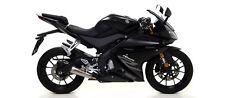 Terminale Street Thunder Dark con fondello Arrow Yamaha YZF-R 125 2017>