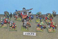 Orcos metal negro 10 (15175) Sigmar Warhammer Fantasy