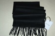 Paul Smith Mens Black Cashmere Scarf Brand New