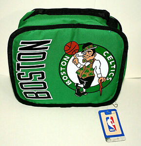 Boston Celtics Irish Mascot NBA Basketball Team Lunch Cold Carry All Bag New
