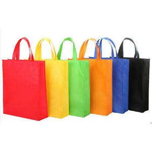 Enviro Bags - Non Woven Shopping Bags - 4 Colours - Carton of 100