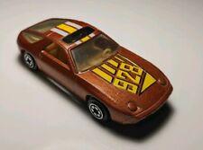 Vintage YatMing #1034 Copper Porsche 928 #34 VHTF 1/64 Diecast