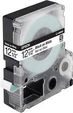 Beschriftungsband original EPSON sw//gelb 12mm LC-4WBN9  C53S625403 LW-300 400