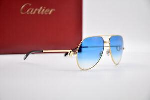 Vintage CARTIER 1984 Occhiali sole SANTOS VENDOME Sunglasses Lunette Brille