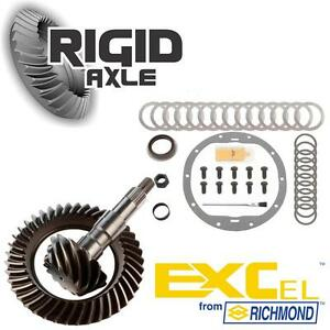 """GM Chevy 8.6"""" 10 Bolt 3.73 Richmond Excel Ring Pinion Gear Set with Install Kit"""