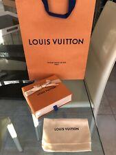 Boîte/Box tiroir Louis Vuitton neuve+dust Bag+poche+ruban Collection/Cadeaux