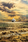 Seascape/Nautical Sailboat Picture Canvas Giclee Print Paintings Poster Art Wall